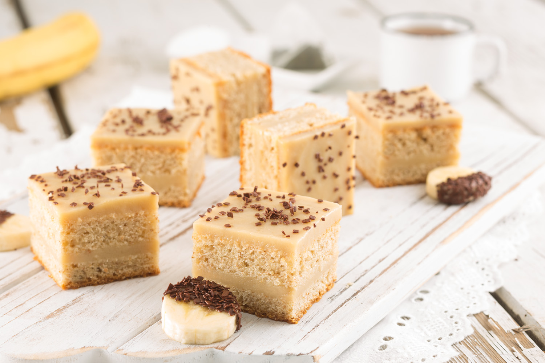 Double Banana Healthy Cake - Martin Dessert